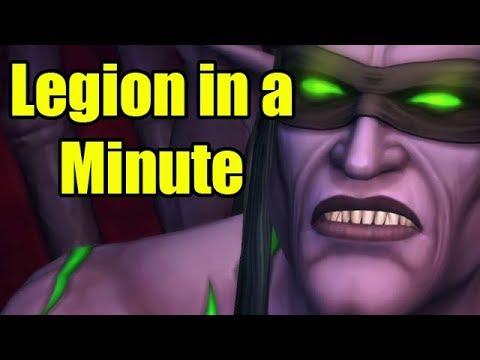 World of Warcraft Legion in a Minute by Wowcrendor (WoW Machinima)