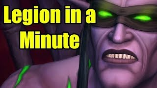 World of Warcraft Legion in a Minute by Wowcrendor (WoW Machinima) | WoWcrendor