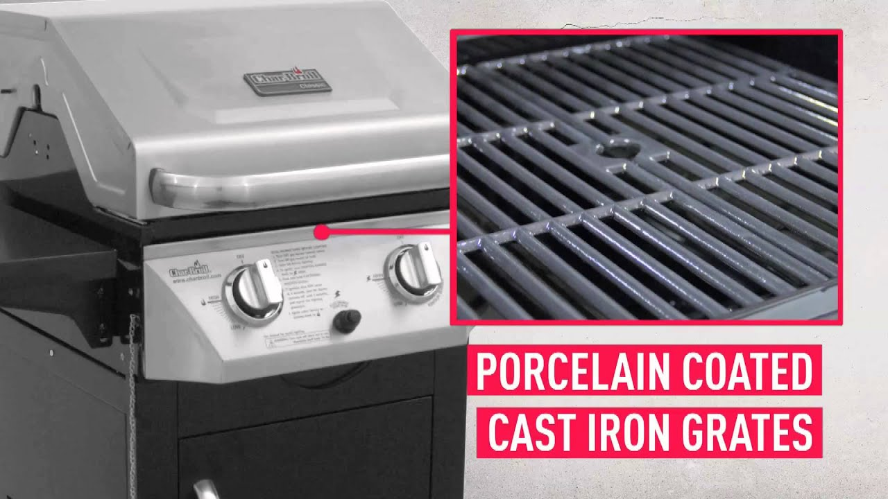 The Char Broil Classic Two Burner Gas Grill   YouTube The Char Broil Classic Two Burner Gas Grill
