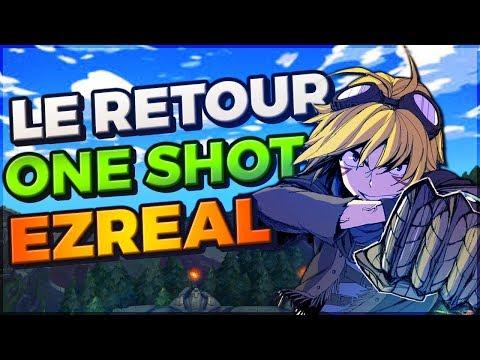 Ezreal FULL AP S8 - Les One Shot les plus faciles du jeu !