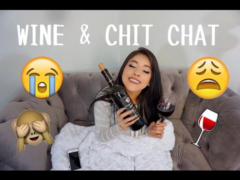 WINE & CHIT CHAT #1: AWKWARD BOY STORIES | CELINA MENDOZA