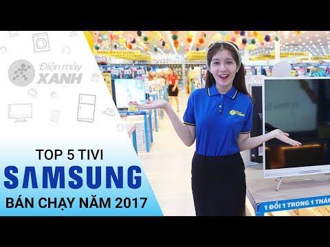 Top 5 tivi Samsung bán chạy nhất năm 2017 tại Điện máy XANH - Thông tin cần biết   Điện máy XANH