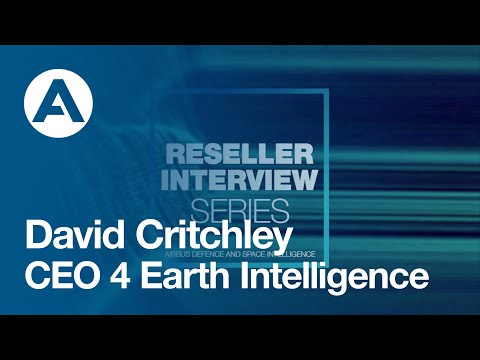 David Critchley, CEO of 4EI discusses his partnership with Airbus
