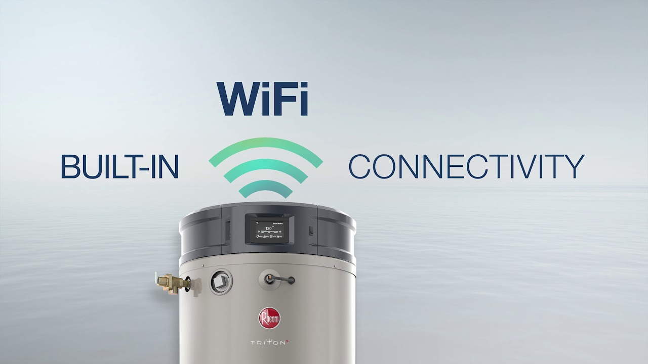 Chauffe Eau Rheem Triton The Most Intelligent High Efficiency Commercial Gas