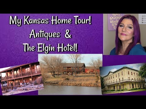 My Kansas Home Tour~ Antiques~ The Elgin ~ #fabat60
