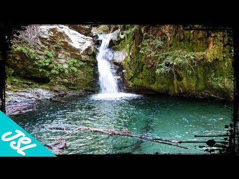 Our own private waterfall in Big Sur! (part 1)