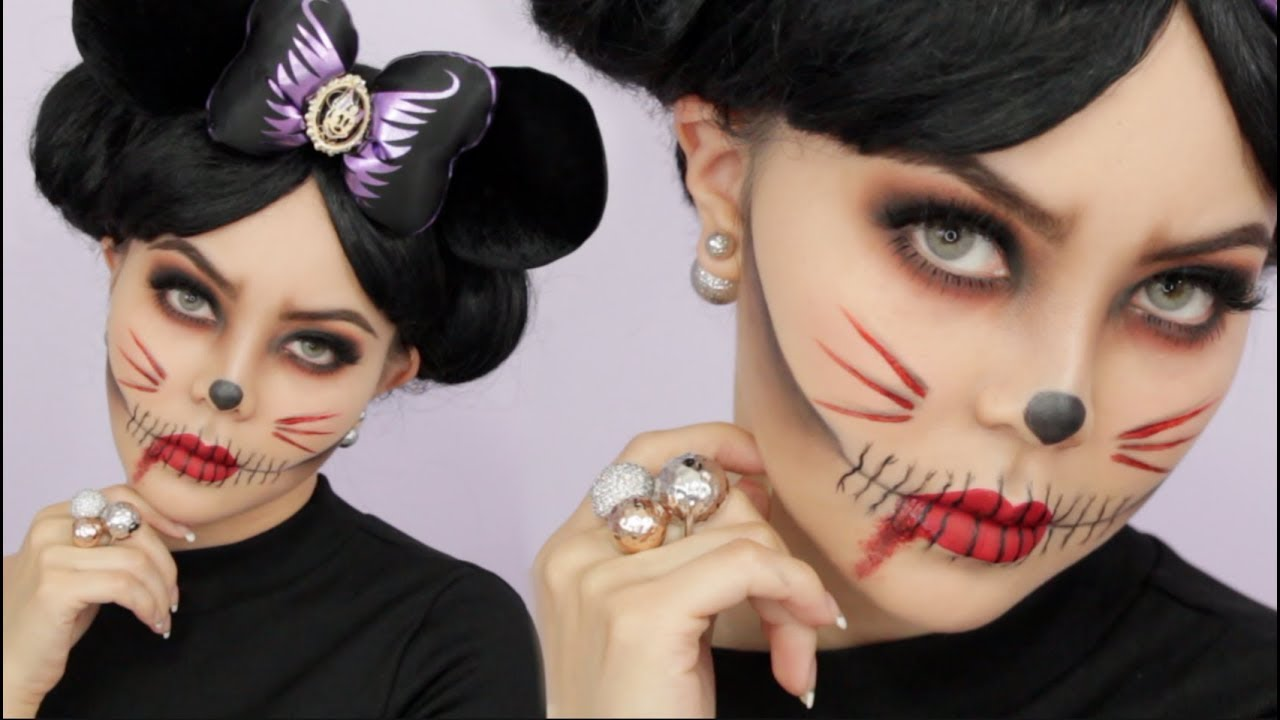 38+ Scary Minnie Mouse Halloween Makeup Background