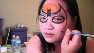 Super hero - Batman face painting tutorial Thumbnail