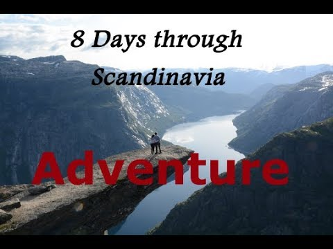 8 Days Through Scandinavia The Adventure [Interrail]