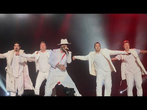 BACKSTREET BOYS - I WANT IT THAT WAY (DNA World Tour Live In Bangkok)