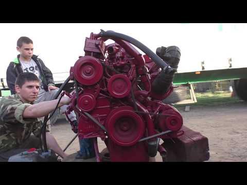Покупка и Установка дизельного двигателя FIAT 5.9 л на ГАЗ 66( ШИШИГУ) от автомобиля ИВЕКО ЕВРОКАРГО