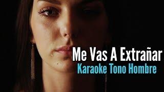 Me Vas A Extrañar - Banda MS - Karaoke Acustico - Leo Mart