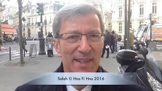وقفة احتجاجية أمام السفارة الجزائرية بباريس ضد تعديل الدستور الجديد
