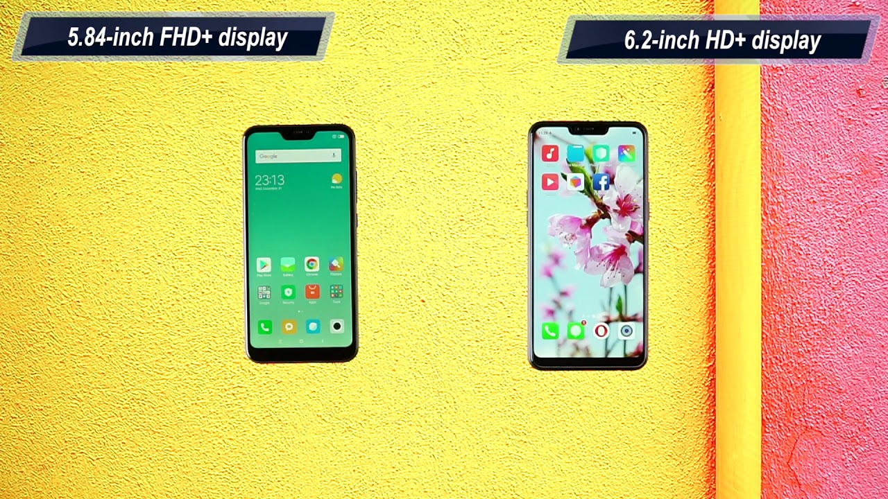 Xiaomi Redmi 6 Pro vs Realme 2: Comparison overview [Hindi-हिन्दी]
