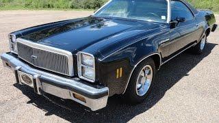 1976 Chevrolet El Camino Test Drive
