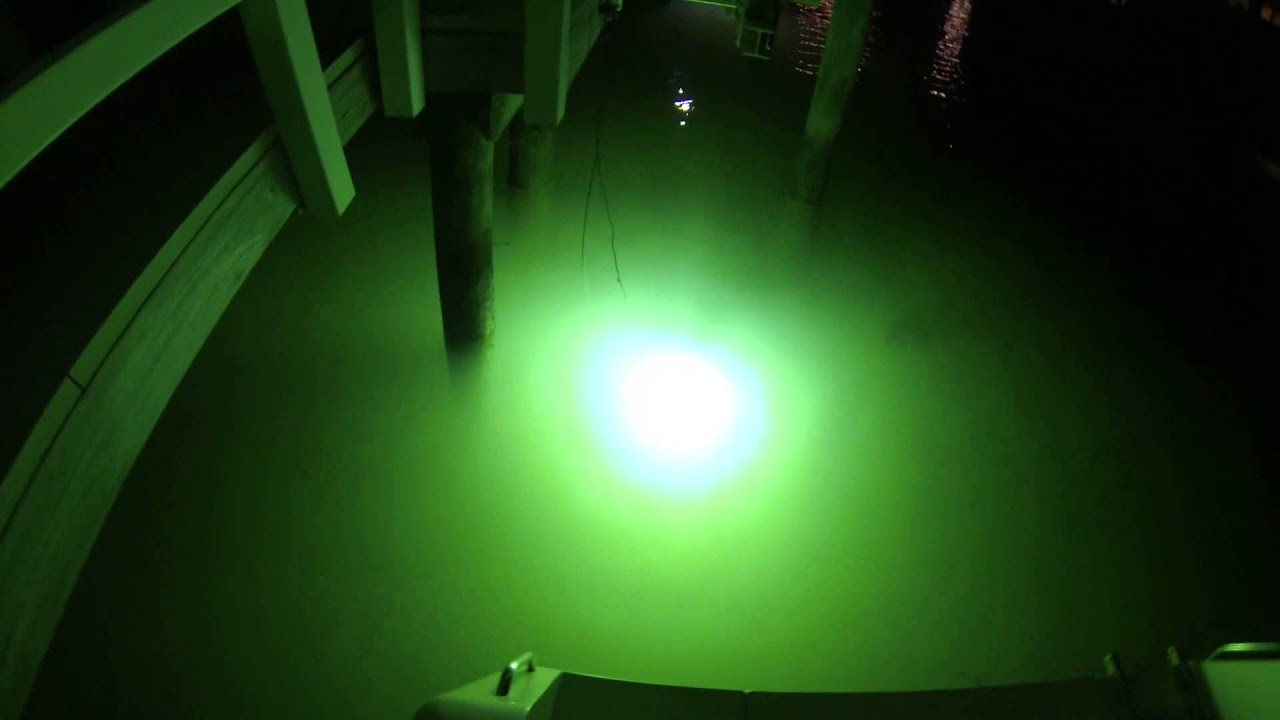 underwater green fishing lights 175w mh green fishing light - youtube, Reel Combo
