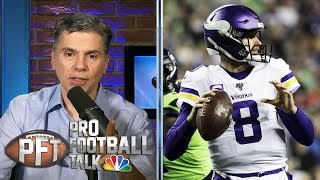 Is Kirk Cousins to blame for Vikings' loss to Seahawks? | Pro Football Talk | NBC Sports