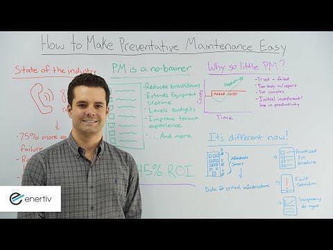 How to Make Preventative Maintenance Easy