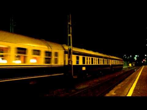 EU06-17 z Danube Express przelotem przez Piotrków Tryb.