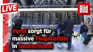 Nichts geht mehr! Streiks legen deutsche Flughäfen lahm – 90.000 Passagiere betroffen