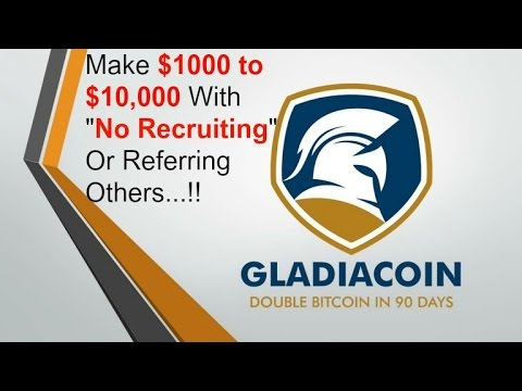 Gladiacoin Fully Explained...And How You Can Make A Fortune In 2017