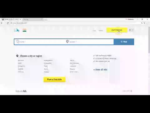 How to post FREE CLASSIFIED ADS online in India | store2sells.com