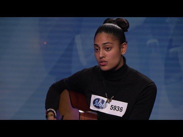 Det bästa Anders Bagge sett på 10 år - Nadia Shahids audition i Idol 2019  - Idol Sverige (TV4)