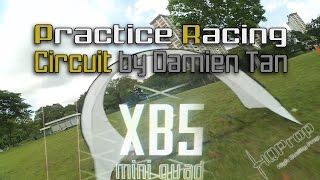 XB5 Mini Quad • Practice Racing Circuit by Damien Tan [HD]