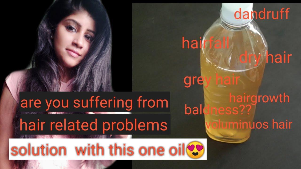 Hair oil for hairgrowth homemade in tamil