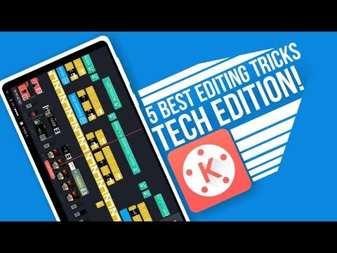 5 BEST KINEMASTER EDITING TRICKS Part-2| FOR TECH VIDEOS
