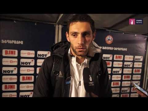 Rumyan Hovsepyan post-match commentaries || Armenia 3-2 Cyprus || Friendly || 13.11.2017