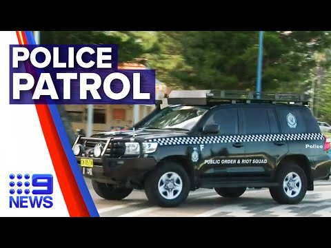 Coronavirus: Riot police out in full force across Sydney | Nine News Australia