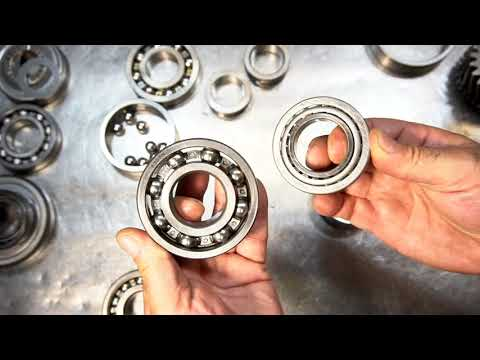Learn about Ball Bearings, Needle Bearings, & Tapered Bearings