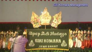 wayang golek bobodoran terbaru babad magada    apep as hudaya Giri Komara  part 1