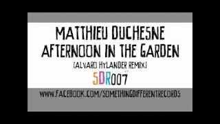 [SDR007] Matthieu Duchesne - Afternoon In The Garden (Alvaro Hylander Remix)