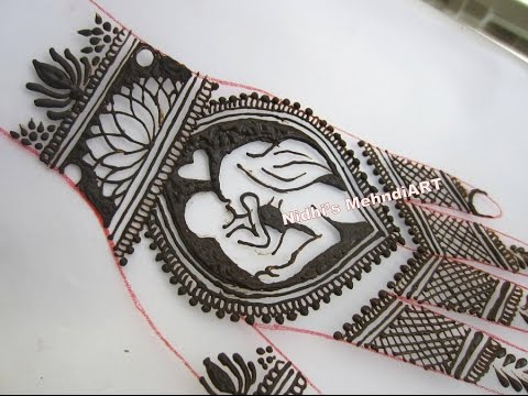 Mehndi For Shrimant : Mothers day special full back hand henna mehndi design tutorial