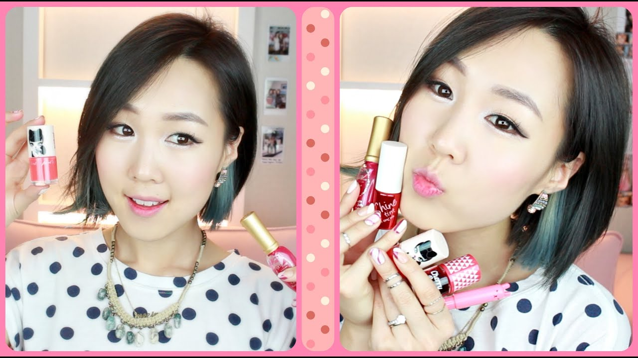Top 5 Korean Lip Tints Gradient Lip Tutorial Update