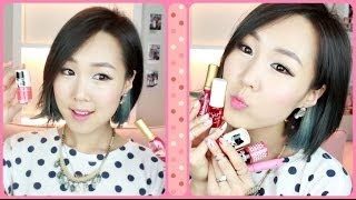 TOP 5 KOREAN LIP TINTS ♥ Gradient Lip Tutorial + Update (Jejudo Trip, Arirang TV)