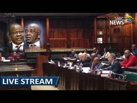 Brian Molefe appears before Parliamentary Eskom Inquiry