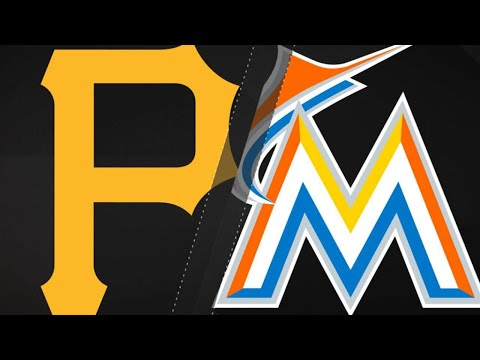 Marte, Bell power Pirates past Marlins: 4/15/18