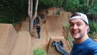 RIDING THE MOST INSANE MTB DIRT JUMPS!!