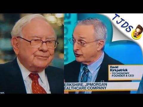 Amazon Creating HealthCare Company With Warren Buffet & JPMorgan
