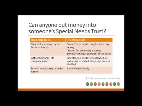 Special Needs Pooled Trust:  An Important Tool for Families of Children with Disabilities
