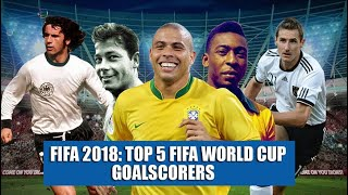 FIFA 2018: Top 5 FIFA World Cup goal scorers of all time