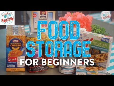 Food Storage for Beginners: How to Create an Emergency Food Supply in 5 Simple Steps