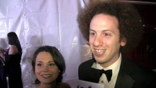 Interviews with Josh Sussman and Iqbal Theba from 'Glee' at E!'s Post Oscar Party