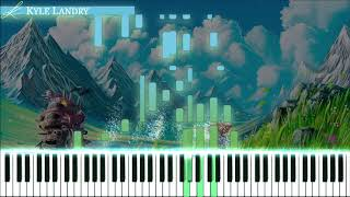 Kyle Landry - Howl's Moving Castle 2.0 Synthesia - Piano :)