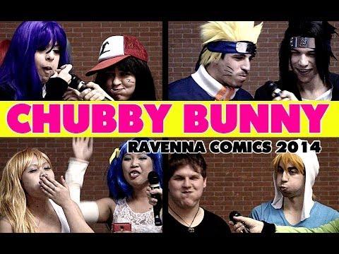 CHUBBY BUNNY ITALIAN COSPLAYERS Ravenna Comics 12 Gennaio 2014
