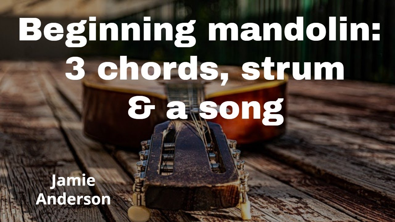Mandolin for beginners – learn how to play acoustic guitar