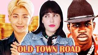 Old Town Road - Lil Nas X, RM (of BTS) [На русском || Russian Cover] Seoul Town Road Remix